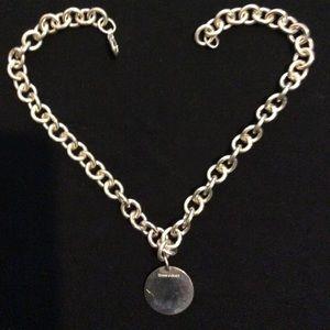 Tiffany Chain Link & Tiffany Pendant